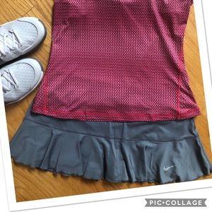 Nike Dri-fit Flounce Skirt - tennis/running